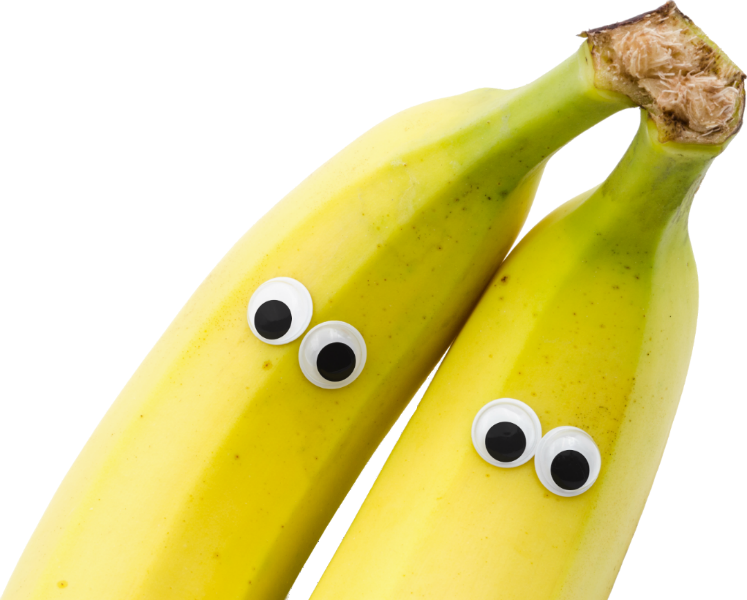 Googly Eyed Bananas