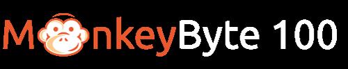 MonkeyByte 100 Logo