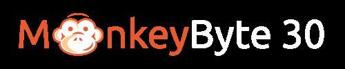 MonkeyByte 30 Logo